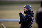 November 2, 2020: Trainer, Michael McCarthy at Keeneland Racetrack in Lexington, Kentucky on November 2, 2020. Alex Evers/Eclipse Sportswire/Breeders Cup