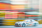 Takeshi Tsuchiya races the Macau GT Cup during the 61st Macau Grand Prix on November 16, 2014 at Macau street circuit in Macau, China. Photo by Aitor Alcalde / Power Sport Images
