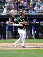 Matt Olson - Oakland Athletics 2020 spring training (Bill Mitchell)