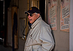 LOUISVILLE, KY - MAY 02: D. Wayne Lukas after morning workouts at Churchill Downs on May 2, 2018 in Louisville, Kentucky. (Photo by Scott Serio/Eclipse Sportswire/Getty Images)