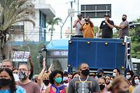 Campinas (SP), 05/03/2021 - Protesto-SP - Donos e trabalahdores em bares e restaurantes de Campinas, interior de São Paulo, realizaram um protesto na região central da cidade no final da tarde desta sexta-feira (05). Eles são contra as medidas de restrições na fase vermelha no estado de São Paulo.