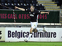 06/12/2008  Copyright Pic: James Stewart.File Name : sct_jspa10_falkirk_v_st_mirren.STEVE LOVELL CELEBRATES AFTER HE SCORES FALKIRK'S GOAL.James Stewart Photo Agency 19 Carronlea Drive, Falkirk. FK2 8DN      Vat Reg No. 607 6932 25.Studio      : +44 (0)1324 611191 .Mobile      : +44 (0)7721 416997.E-mail  :  jim@jspa.co.uk.If you require further information then contact Jim Stewart on any of the numbers above.........