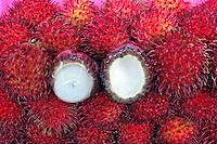 Alimentos. Frutas. Rambutan. Foto de Manuel Lourenço.