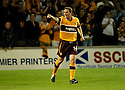 22/08/2006        Copyright Pic: James Stewart.File Name : sct_jspa09_motherwell_v_partick.STEVEN MCGARRY CELEBRATES SCORING MOTHERWELL'S WINNING THIRD GOAL...Payments to :.James Stewart Photo Agency 19 Carronlea Drive, Falkirk. FK2 8DN      Vat Reg No. 607 6932 25.Office     : +44 (0)1324 570906     .Mobile   : +44 (0)7721 416997.Fax         : +44 (0)1324 570906.E-mail  :  jim@jspa.co.uk.If you require further information then contact Jim Stewart on any of the numbers above.........
