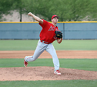 Connor Van Scoyoc - Los Angeles Angels 2019 extended spring training (Bill Mitchell)