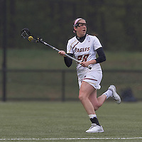 Boston College midfielder Katherine Caufield (28) looks to pass. Boston College defeated University of New Hampshire, 11-6, at Newton Campus Field, May 1, 2012.