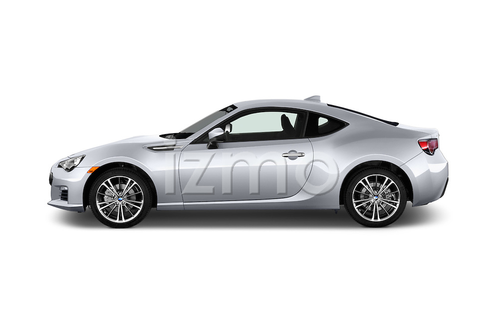 Car Driver side profile view of a 2015 Subaru BRZ Limited AT 2 Door Coupe Side View