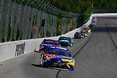#18: Kyle Busch, Joe Gibbs Racing, Toyota Camry M&M's Caramel, #11: Denny Hamlin, Joe Gibbs Racing, Toyota Camry FedEx Express