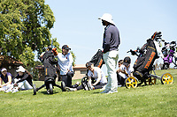 STANFORD, CA - APRIL 23: USC Trojans at Stanford Golf Course on April 23, 2021 in Stanford, California.