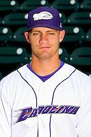 Carolina League All-Star Brady Shoemaker #21 of the Winston-Salem Dash at BB&T Ballpark on June 19, 2012 in Winston-Salem, North Carolina.  (Brian Westerholt/Four Seam Images)