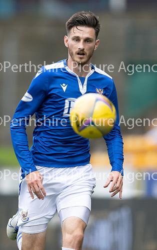 St Johnstone v Celtic…04.10.20   McDiarmid Park  SPFL<br />Scott Tanser<br />Picture by Graeme Hart.<br />Copyright Perthshire Picture Agency<br />Tel: 01738 623350  Mobile: 07990 594431
