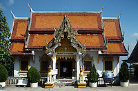 TEMPLE at WAT PRATHAT (Doi Suthep) in CHIANG MAI, Thailands Northern Capital
