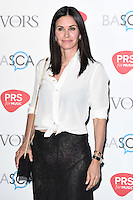 Courtney Cox<br /> arrives for the 2016 Ivor Novello Awards at the Grosvenor House Hotel, London.<br /> <br /> <br /> ©Ash Knotek  D3121  19/05/2016