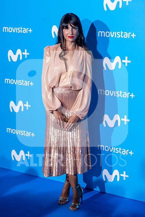 Xenia Tostado attends to blue carpet of presentation of new schedule of Movistar+ at Queen Sofia Museum in Madrid, Spain. September 12, 2018. (ALTERPHOTOS/Borja B.Hojas)