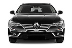 Car photography straight front view of a 2016 Renault Talisman Initiale-Paris 5 Door Wagon Front View