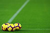 Palloni della Serie A, Balls<br /> Napoli 28-10-2018  Stadio San Paolo <br /> Football Campionato Serie A 2018/2019 <br /> Napoli - AS Roma<br /> Foto Cesare Purini / Insidefoto