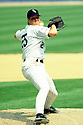 CHICAGO - CIRCA 1995:  Jim Abbott #25 of the Chicago White Sox pitches during an MLB game at Comiskey Park in Chicago, Illinois. Abbott played for 10 season for 4 different teams. (David Durochik / SportPics) --Jim Abbott