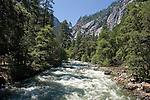 The Merced River near Happy Isles, Yosemite - 2011