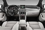 Stock photo of straight dashboard view of 2016 Mercedes Benz B-Class Inspiration 5 Door Mini MPV Dashboard