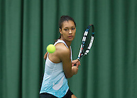 Rotterdam, The Netherlands, March 18, 2016,  TV Victoria, NOJK 14/18 years, Moesha van Leeuwen (NED)<br /> Photo: Tennisimages/Henk Koster