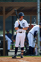 Detroit Tigers Ben Verlander (39) during a minor league Spring Training game against the Houston Astros on March 30, 2016 at Tigertown in Lakeland, Florida.  (Mike Janes/Four Seam Images)