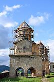 Bauarbeiten am Kloster Gelati (Imeretien). / construction work, monastery Gelati (Georgia).