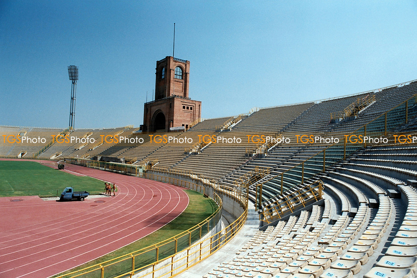 General view of  Stadio Renato Dall'Ara, home of Bolgona FC