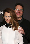 "Keri Russell and Michael Mayer attends the Broadway Opening Celebration for Landford Wilson's ""Burn This""  at Hudson Theatre on April 15, 2019 in New York City."
