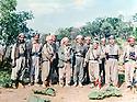 Iraq 1983 <br /> In Lolan,2nd right, Mullazem Seif Eddine, next; Najmeddin Yousefi and Dr. Said Barzani with their peshmergas  <br /> Irak 1983 <br /> Dans le Lolan, 2eme a droite, Mullazem Seif Eddine, a cote, Najmeddin Yousefi et le Dr. Said Barzani avec leurs peshmergas