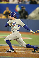 March 7, 2009:  Center fielder Chris Denorfia (19) of Italy during the first round of the World Baseball Classic at the Rogers Centre in Toronto, Ontario, Canada.  Venezuela defeated Italy 7-0 in both teams opening game of the tournament.  Photo by:  Mike Janes/Four Seam Images