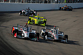 #98: Marco Andretti, Andretti Herta with Marco & Curb-Agajanian Honda, #12: Will Power, Team Penske Chevrolet, #22: Simon Pagenaud, Team Penske Chevrolet, #21: Rinus VeeKay, Ed Carpenter Racing Chevrolet