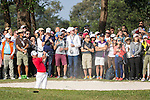 Danny Willett of England gets his ball out of a bunker during the 58th UBS Hong Kong Golf Open as part of the European Tour on 11 December 2016, at the Hong Kong Golf Club, Fanling, Hong Kong, China. Photo by Vivek Prakash / Power Sport Images