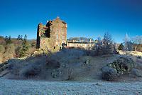 Neidpath Castle, Peebles, Scottish Borders