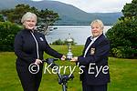 Marguerita Mulcahy  presents the inaugural Killarney Golf Club Presidents Cup which was presented to the club by club President Marguerita Mulcahy to the winner Mary McMonagle in Killarney Golf club on Sunday