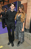 """Marcus Harman and guest at the """"The Show Must Go On!"""" red carpet pre-show, Palace Theatre, Shaftesbury Avenue, London, on Sunday 06 June 2021 in London, England, UK. <br /> CAP/CAN<br /> ©CAN/Capital Pictures"""