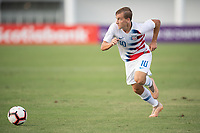 Bradenton, FL - Thursday, November 01 2018:  The USMNT U-20 open their CONCACAF U-20 Championship against Puerto Rico at IMG Academy Stadium Field.