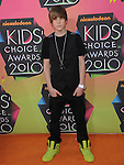 Justin Bieber at Nickelodeon's 23rd Annual Kids' Choice Awards held at Pauley Pavilion in Westwood, California on March 27,2010                                                                                      Copyright 2010 © DVS / RockinExposures