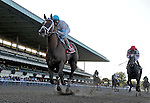 03 October 10: Life At Ten and jockey John Velasquez rebound for a win in the Beldame Stakes at Belmont Park in Elmont, New York