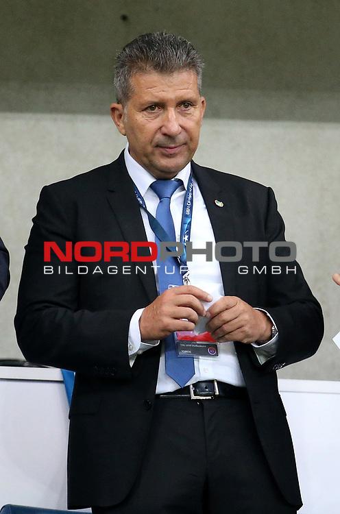 14.02.2020, PreZero-Arena, Sinsheim, im Bild<br /><br />Der langjährige Präsident Peter Hofmann ist am 04.09.2020 im Alter von 61 Jahren verstorben. , <br /> <br /> Foto © nordphoto / Bratic