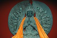 China, Peking, Bodhisattva Avalokiteshvara im Bai Ta Si-Tempel