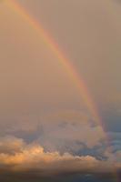 Rainbow at Sunset, Pontotoc, Texas