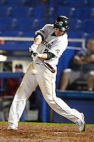Michigan State Spartans outfielder Jared Hook #2 at bat during a game against the St. John's Red Storm at the Big Ten/Big East Challenge at Florida Auto Exchange Stadium on February 17, 2012 in Dunedin, Florida.  (Mike Janes/Four Seam Images)
