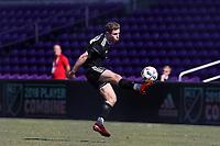 Orlando, Florida - Wednesday January 17, 2018: Jon Gallagher. Match Day 3 of the 2018 adidas MLS Player Combine was held Orlando City Stadium.