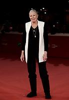 L'attrice britannica Vanessa Redgrave posa sul red carpet della Festa del Cinema di Roma, 2 novenbre 2017.<br /> British actress Vanessa Redgrave poses on the red carpet during the international Rome Film Festival at Rome's Auditorium, November 2, 2017.<br /> UPDATE IMAGES PRESS/Isabella Bonotto