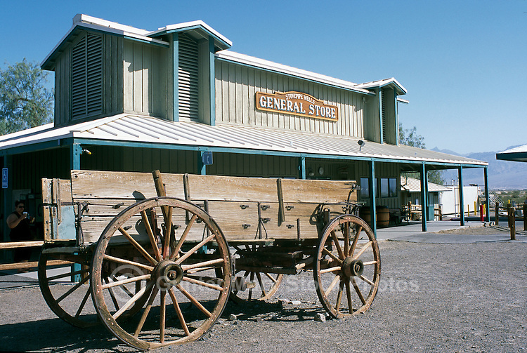 Death Valley National Park, California, CA, USA - Stovepipe Wells General Store and Campground