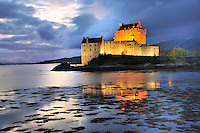 SC - NORTH WEST HIGHLANDS<br /> Eilean Donan Castle at Loch Duich<br /> <br /> Full size: 69,0 MB