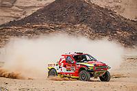 7th January 2021; Riyadh to Buraydah, Saudi Arabia; Dakar Rally, stage 5;  312 Prokop Martin (cze), Chytka Viktor (cze), Ford, Orlen Benzina Team, Auto, action during the 5th stage of the Dakar 2021 between Riyadh and Buraydah, in Saudi Arabia on January 7, 2021