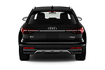 Straight rear view of 2021 Audi A4-allroad Premium-Plus 5 Door Wagon Rear View  stock images