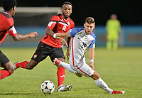 Couva, Trinidad & Tobago - Tuesday Oct. 10, 2017: Paul Arriola during a 2018 FIFA World Cup Qualifier between the men's national teams of the United States (USA) and Trinidad & Tobago (TRI) at Ato Boldon Stadium.