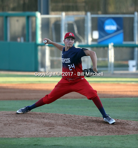 Ethan Smith plays in the 2017 Area Code Games on August 6-10, 2017 at Blair Field in Long Beach, California (Bill Mitchell)